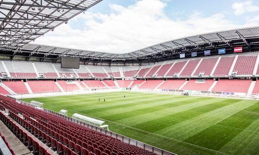 Wörtherseestadion Sportpark Klagenfurt Lokalaugenschein