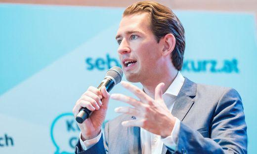 Wirbt für neues Pflegemodell: Sebastian Kurz