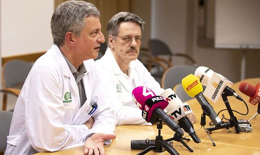 STEIERMARK: MASERN - PRESS CONFERENCE LKH GRAZ / EBER / ZENZ