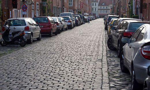 einbahnstraße parken