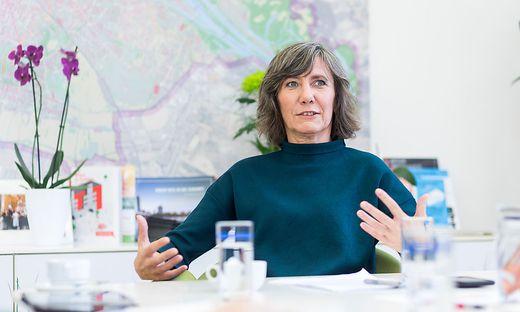 Vizebürgermeisterin Birgit Hebein