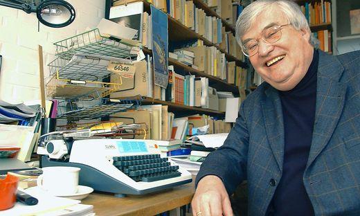 Schriftsteller Peter Haertling