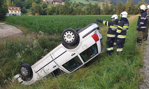 Unfall in Waldbach-Mönichwald
