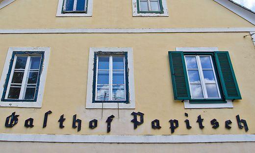 Gasthof Papitsch Feschnigstra�e Klagenfurt Mai 2012