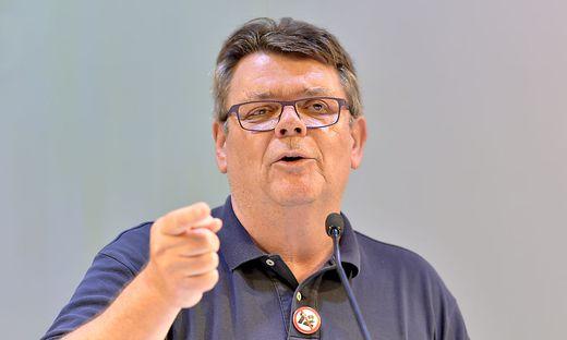 ÖGB-Chef Wolfgang Katzian plädierte in der Pressestunde des ORF für die Einrichtung eines Krisenüberbrückungsfonds für die Arbeitnehmer.