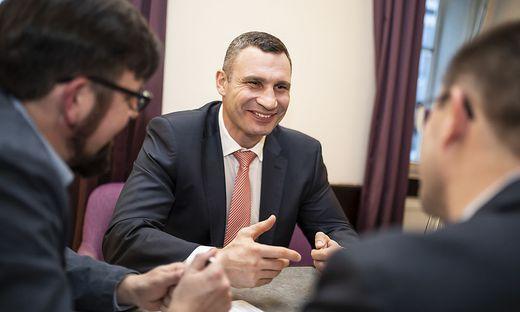 """""""Die Ukraine ist mit ihrer Geschichte und ihrer Mentalität ein Teil von Europa"""", sagt Kiews Bürgermeister Vitali Klitschko"""