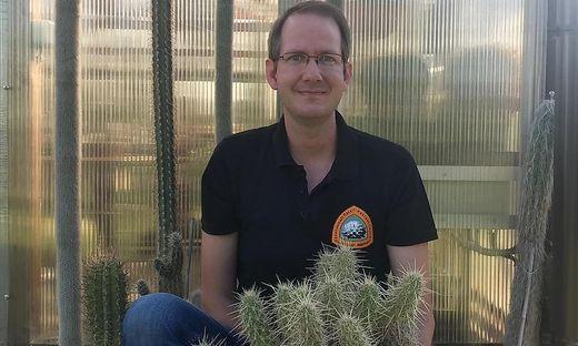 Neuer Obmann der Steirischen Kakteenfreunde: Michael Pinter