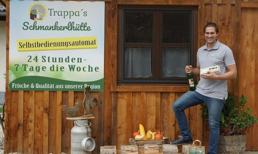 """""""Trappas Schmankerlhütte"""" in Kellerberg ist seit der Krise ein Verkaufsmagnet"""