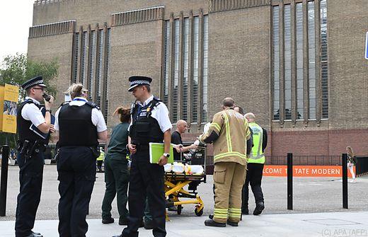 Rätselhafte Gewalttat in der Tate Modern