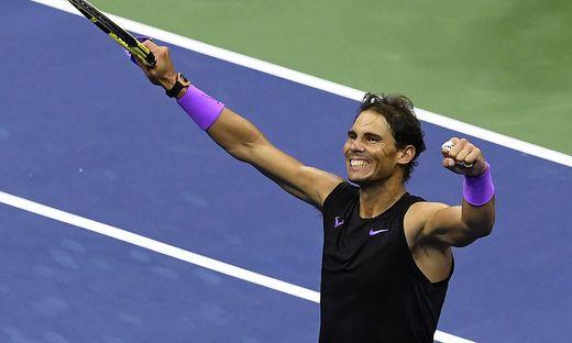 Rafael Nadal steht im Endspiel