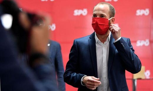 SPÖ-Landesparteivorsitzender David Egger