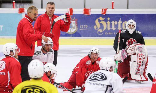 ICE HOCKEY - ICEHL, KAC, training start