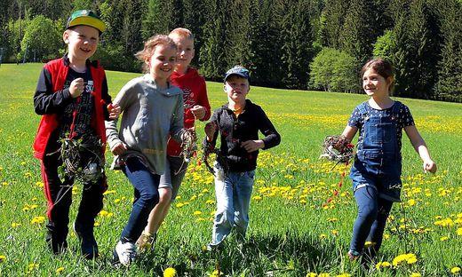 Schüler der VS Zlan und VS Weißensee erkundeten die Natur