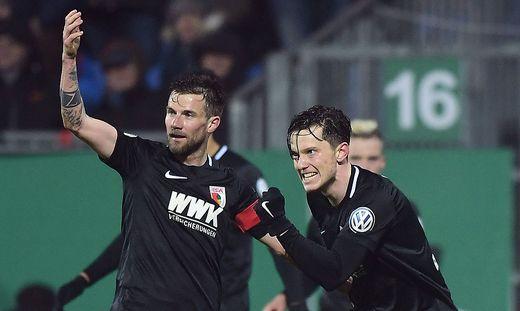 SOCCER - DFB Pokal, Kiel vs Augsburg