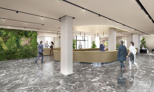 """Die frühere Hypo-Zentrale in der Grazer Radetzkystraße wird ab Mitte September zum neuen """"Raiffeisenhaus"""" ausgebaut"""