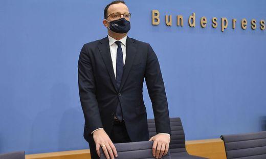 Deutschlands Gesundheitsminister Jens Spahn