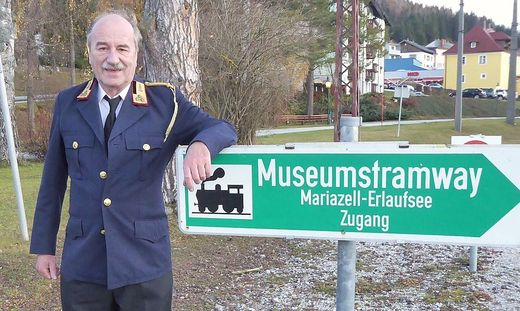 Alfred Fleissner konnte heuer 25.000 Fahrgäste transportieren