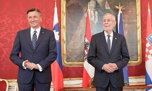 Pahor und Van der Bellen vereinbarten im Sommer die gemeinsame Teilnahme an der Feier in Kärnten