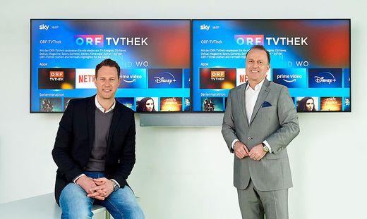 ORF-TVthek ab sofort auch via Sky verfuegbar