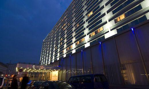 Das Wiener Hotel Intercontinental wird zum Ausstellungsraum
