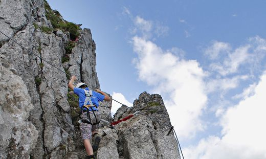 Klettersteig Vorarlberg : Vorarlberg jähriger deutscher aus klettersteig geborgen