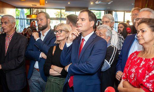 SPÖ-Wahlfeier