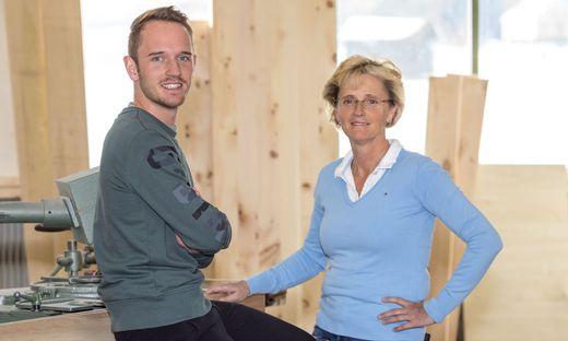 Sonja und Johannes Forstner betreiben einen Tischlereibetrieb in der Murauer Gemeinde Neumarkt