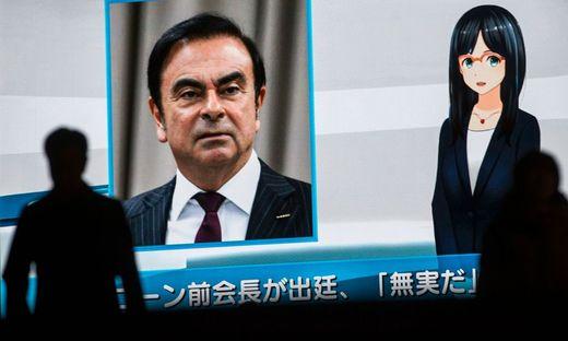 Carlos Ghosn sitzt in Japan in Untersuchungshaft