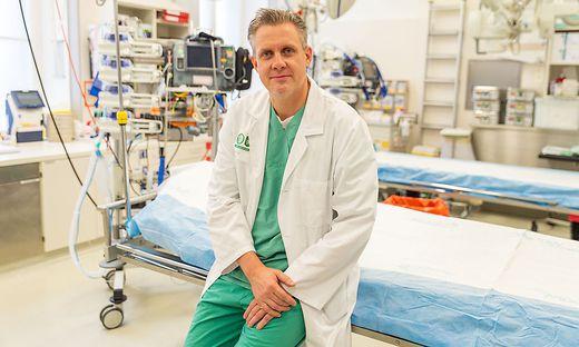 Lars-Peter Kamolz, Leiter der Klinischen Abteilung für Plastische, Ästhetische und Rekonstruktive Chirurgie