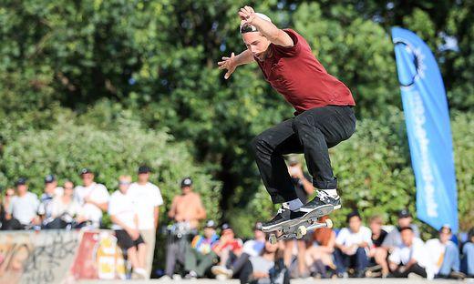 Skateboard-Weltcup in Graz
