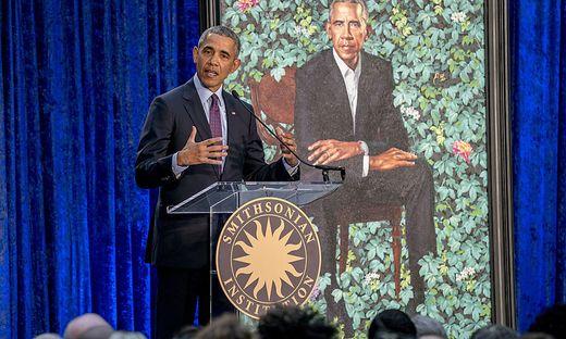 Barack Obama und Michelle Obama: Porträts in der National Portrait Gallery enthüllt