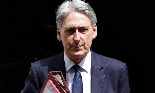 Der britische Finanzminister Philip Hammond