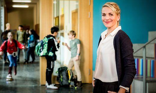 Als Bianca schaffte sie im Nachmittagsprogramm den Durchbruch, nun ist sie Fritzie in einer neuen ZDF-Serie, morgen wieder um 20.15 Uhr