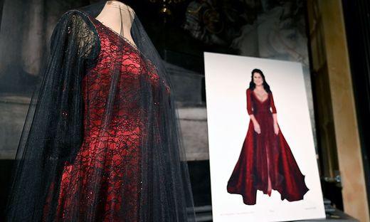Dieses Kleid wurde für Netrebko gefertigt