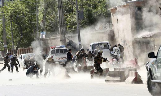 Sieben Tote bei Serie von Selbstmordanschlägen in Kabul
