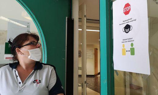 SALZBURG: CORONAVIRUS - WIEDER MASKENPFLICHT IN DEN AMTSGEBAeUDEN DER STADT