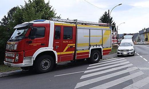 In der Harter Straße geschah der tödliche Unfall
