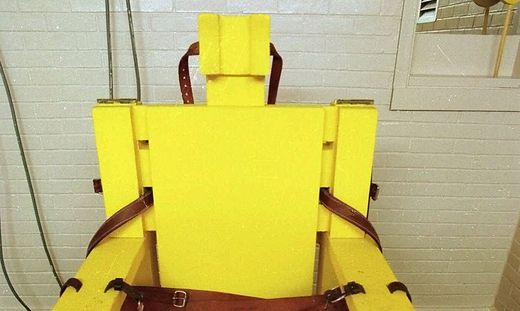 YELLOW MAMA ELECTRIC CHAIR