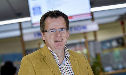 Der neue Kärntner AMS-Chef Peter Wedenig