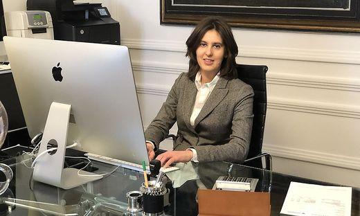 Hanna Craigher verbringt derzeit mehr Zeit am Computer als sonst