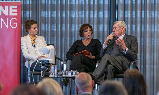 Hannes Androsch im Gespräch