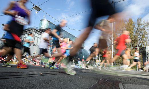 ATHLETICS - Graz Marathon 2014