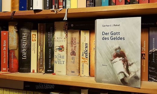 Gerhard J. Rekel, Der Gott des Geldes, Verlag Wortreich, 370 Seiten, 14,90 Euro