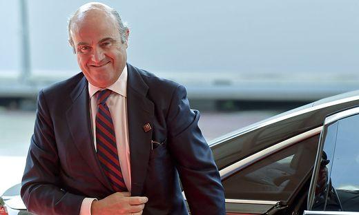 Vizepräsident Luis de Guindos