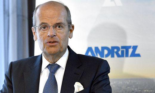 Andritz AG-Vorstandschef Wolfgang Leitner