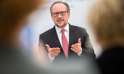 DOORSTEP VON AUSSENMINISTER SCHALLENBERG ZU INFORMELLEM EU-RAT