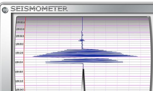 Das Erdbeben in Friaul hatte die Stärke 4,0