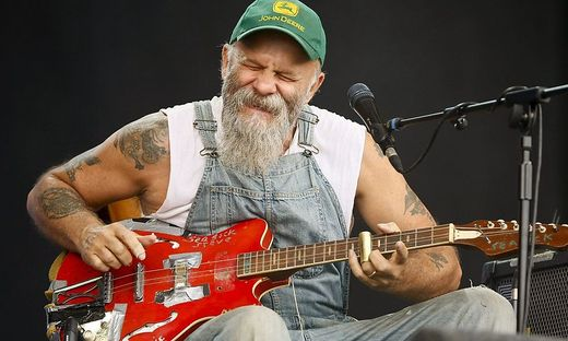 Seasick Steve, hier in Glastonbury
