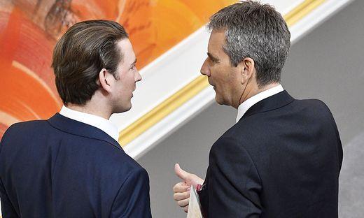 Laut Ex-Finanzminister Hartwig Löger war Sebastian Kurz über die Details der  Vorstandsbesetzung nicht informiert