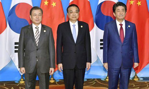 Atomkonflikt: China, Südkorea und Japan rücken zusammen